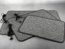 Нагревательный коврик для сушки обуви и обогрева ног.