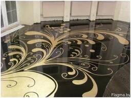 Наливные полы 3Д с картинками