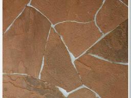 Натуральный камень – ПЕСЧАНИК (1,5см) терракотово-красный