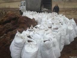Навоз конский фасованный в мешки по 60 литров