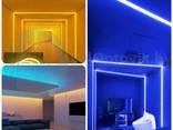 Неоновая светодиодная лента Neon Flexible Strip с контроллером / Гибкий неон 5 м. Красный - фото 3