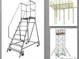 Нержавеющие конструкции, изделия по чертежам заказчик из нерж