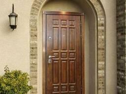 Нестандартные металлические двери от производителя под ключ.