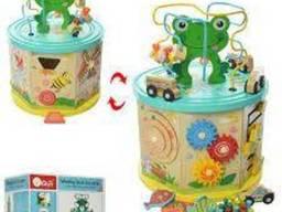 NEW Развивающая деревянная игрушка Winding bead toy. ..