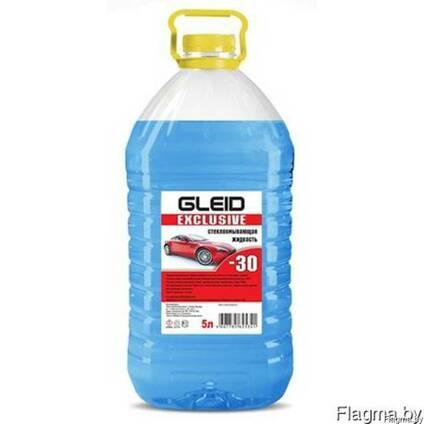 """Незамерзающая жидкость""""Gleid Exclusive"""" -30 5L Blue"""