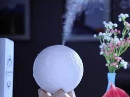 Ночник Реалистичная Луна с увлажнителем воздуха