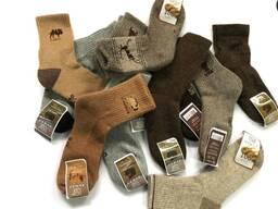 Носки шерстяные прямые поставки