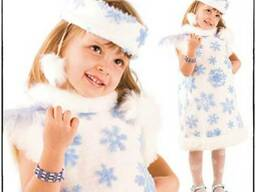 Новогодний костюм снежинка прокат, аренда