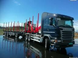 Новый лесовоз Scania 500 / TimberTek/ Palfinger