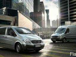 Новые запчасти на Mercedes Sprinter и Vito