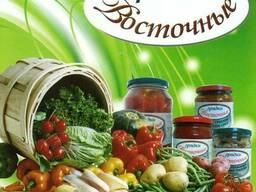 ОАО Комбинат Восток Консервация СОК Овощи