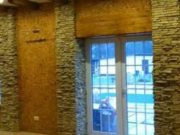 Облицовка фасада и стен камнем