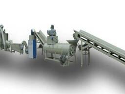 Оборудование для переработки пластиковых ПЭТ бутылок.