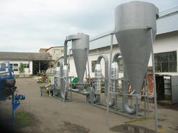 Сушильный комплекс аэродинамический для сырья 800кг/час
