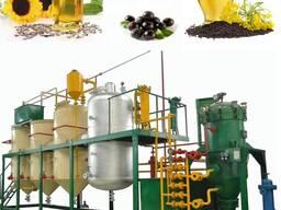 Оборудование для производства, рафинации и экстракции рапсового, соевого и хлопкового мала