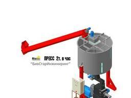 Оборудование по производству топливных брикетов Pini key