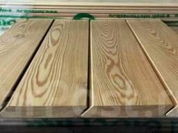 Обшивочная доска планкен (ромбус) из сибирской лиственицы