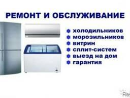 Обслуживание и ремонт промышленных и бытовых холодильников,