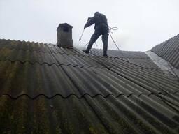 Очистка крыши от 5 руб. кв. м