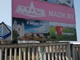 Односторонний билборд (рекламный щит) 3х4 кв. м.