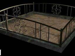 Ограда на могилу для кладбищ