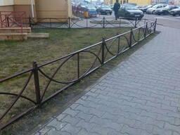 Ограждения газона в Кобрине, Берёзе и Дрогичине