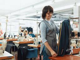 Оказание услуг по пошиву женской одежды