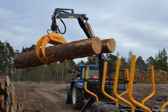 Окажем услугу по вывозке (трелевке) леса