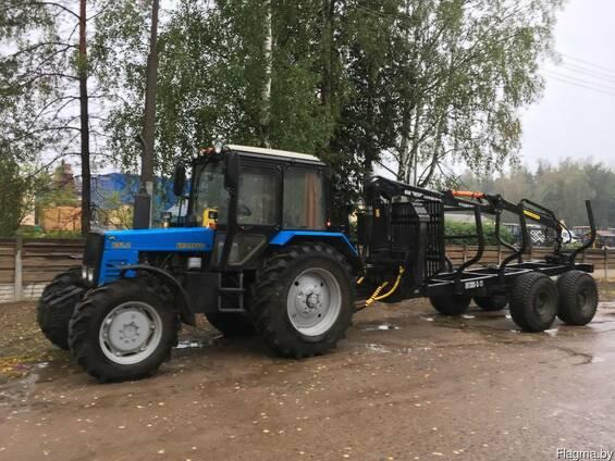 Оказываем услуги по вывозке леса трактором МТЗ