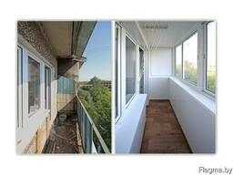 Окна, Двери, Балконные рамы из ПВХ и алюминия.