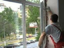 Окна ПВХ, рамы из алюминия от производителя.