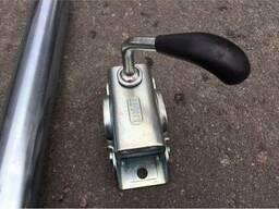 Хомут опорного колеса 48 мм к прицепу