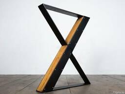 Опоры под столы из металла, лофт мебель.