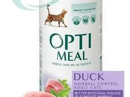 Optimeal для кошек с эффектом выведения шерсти (Утка) Optimeal для кошек с эффектом. ..