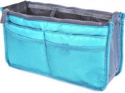 Органайзер для женской сумки SiPL сине-серый
