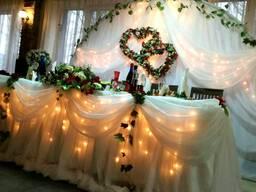 Организация праздника, свадьбы, юбилея, корпоратива