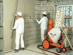 Оштукатуривание стен и потолков