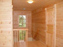 Внутренняя отделка деревянных домов без предоплаты