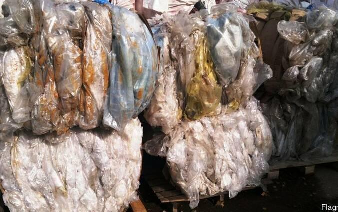Отходы ПЭВД пленка, ПЭНД, АБС пластик, ПП , ПС, ПЭТФ,