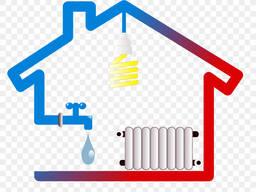 Отопление, Теплый пол, Водоснабжение, Канализация, Монтаж котлов, Электрика