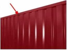 П -образная планка на забор