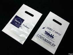 Пакеты полиэтиленовые 20х30см, с печатью логотипа