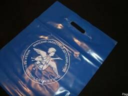 Пакеты полиэтиленовые ПВД 40х50см, с печатью логотипа 1 0