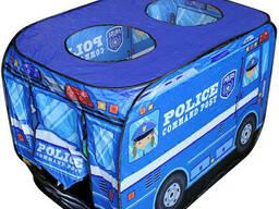 """Палатка игровая детская """"Полицейская машина"""" (50 шаров)"""