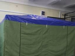 Палатка сварщика (укрытие сварщика) 2.0х2.0 м (ПВХ, брезент). Каркас усиленный