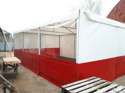 Палатка торговая тентовая 5×7. 5