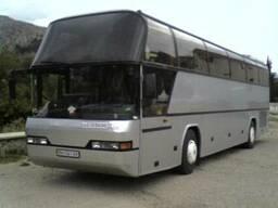Пасажирские перевозки автобусами на 50 мест