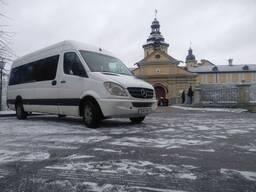 Аренда автобуса (микроавтобуса) с водителем.