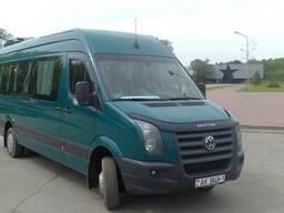 Пассажирские перевозки микроавтобус 20 мест.