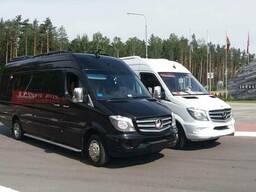 Пассажирские перевозки микроавтобус